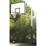 Basketball B/board-1 Upright, Side Swing Max Cantilever - 2400mm