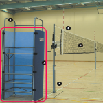 Volleyball Umpire Stand Safety Padding