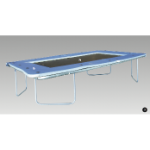 Trampoline - Competition - Rigid Frame + Sheet Bed, 3660 x 1830