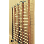 Wall Bars - Fixed, 1 Section, 2400mm High x 760mm Wide