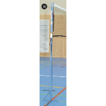 Badminton/Mini Volleyball Posts with Floor Plates (Pair)