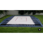 Trampoline - Pit - Comp, Woven Net, 3660 x 1830mm incl pads