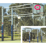 Basketball Backboard - Timber, Outdoor