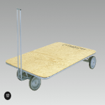 Mat Trolley - 200mmD Wheels, 1800 x 1200mm