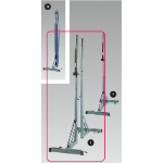 Volleyball Posts with Linear Tensioner, for Floor Anchors (Pair)