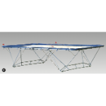 Trampoline - Goliath - Folding, with Woven Net ,4270 x 2130mm