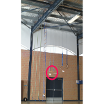 Trapeze Bar - Add to Rope Track