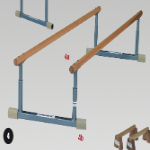 Parallel Bars - Low Balancing