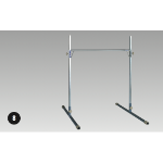 Single Bar - Portable, Height Adjustable