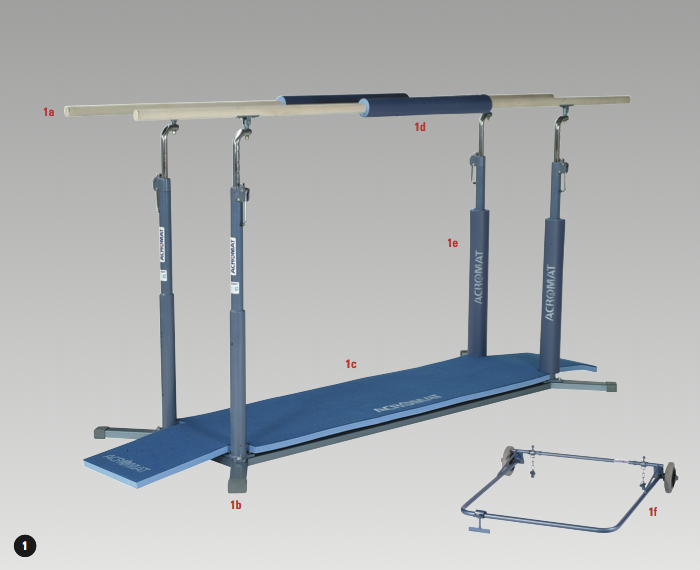 Parallel Bars Dimensions Parallel Bar Fill in Mat