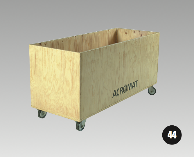 Useful For Storing Nets, Balls Or Other Equipment. Box Is Constructed Of  Plywood 19mm Thick And Fitted With Non Marking Castor Wheels 95mm D.